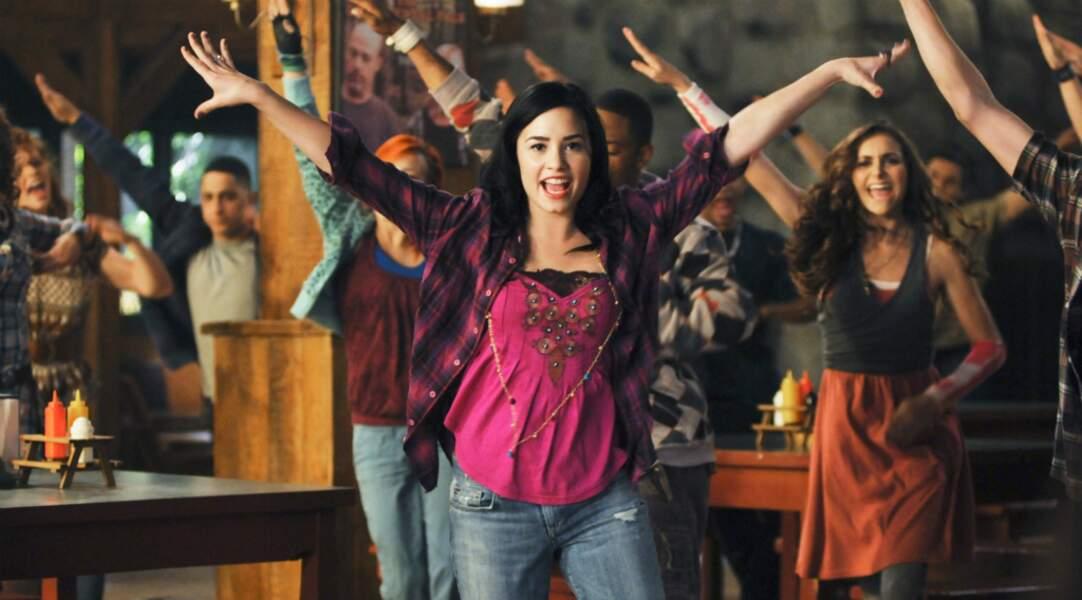 En 2009, elle se faisait connaître grâce au téléfilm Camp Rock : voici Demi Lovato !