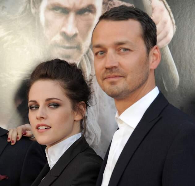 Une infidélité sur le tournage de Blanche-Neige et le chasseur, avec le réalisateur Rupert Sanders lui-même.