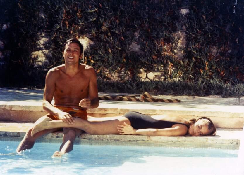 """Cinq ans après leur rupture, Romy et Alain redeviennent des amants magnifiques dans """"La piscine"""" (1969)"""