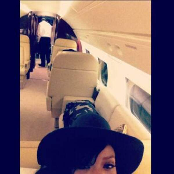Rihanna s'envoie en l'air