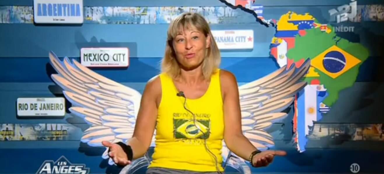Corinne, la maman de Steven, est une fan du Brésil !