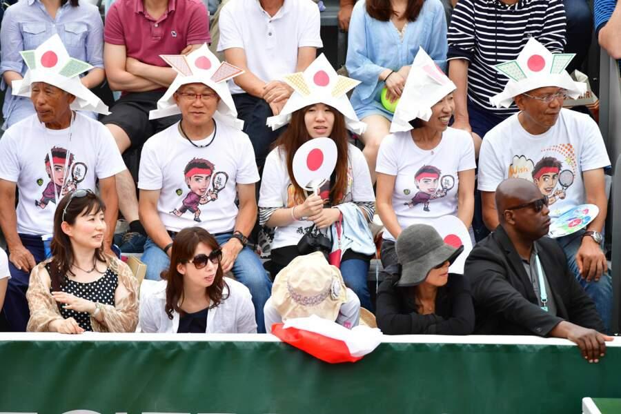 Les fans de Kei Nishikori ont pu apprécier ses exploits jusqu'en huitième de finale