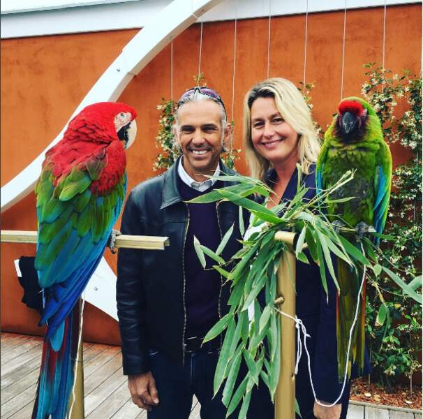 Et sont aussi fans de Coco le perroquet du village VIP !