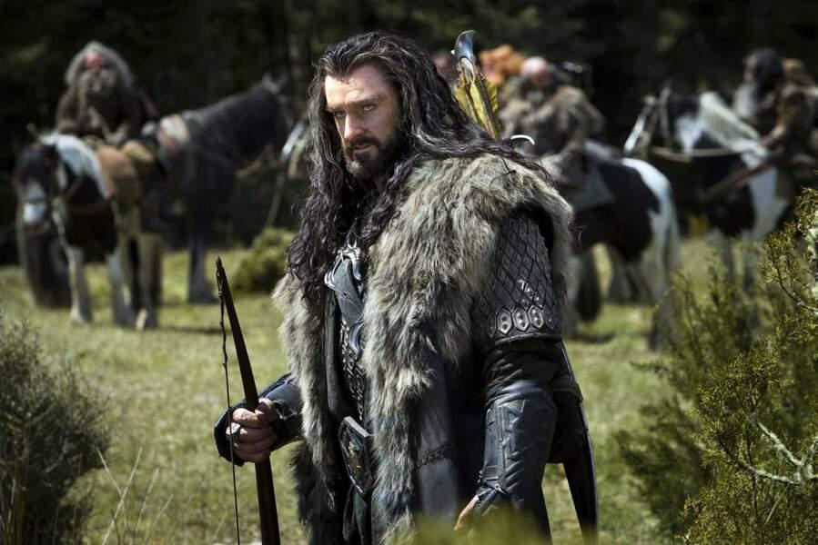 Richard Armitage alias Thorin dans Le Hobbit : La désolation de Smaug