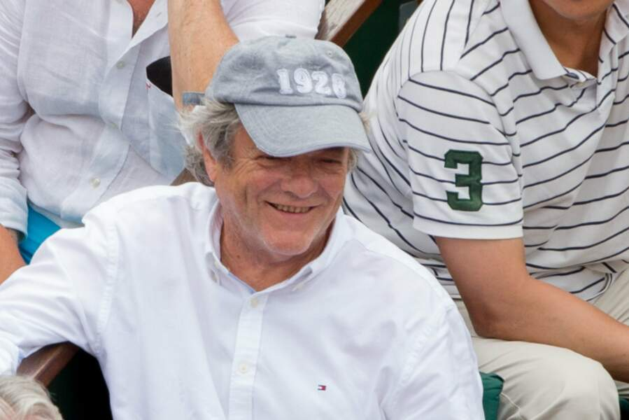 Assez discret, l'ancien ministre Jean-Louis Borloo a profité de la finale pour faire une apparition