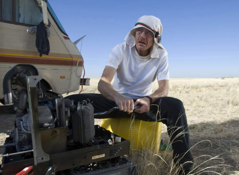 Et bientôt, la cuisine dans le désert en camping car ne sera plus qu'un lointain souvenir