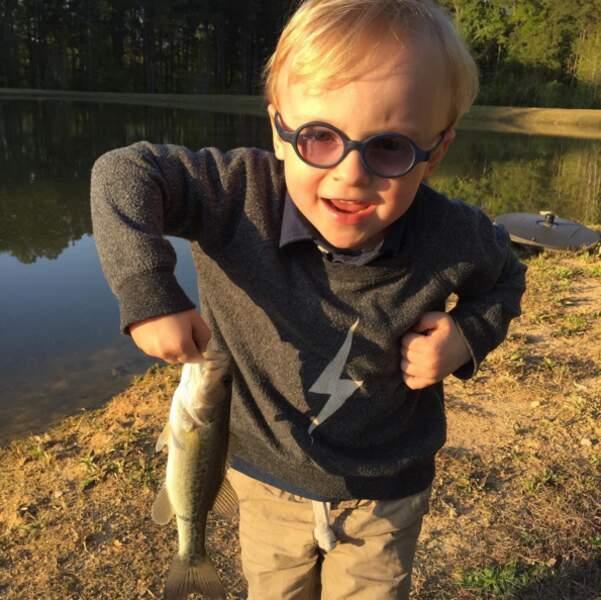 Le petit mignon : Jack, le fils de Chris Pratt et Anna Faris.