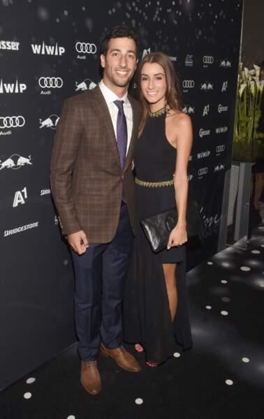 Quand Daniel Ricciardo se la joue country club, Jemma apporte la touche glamour