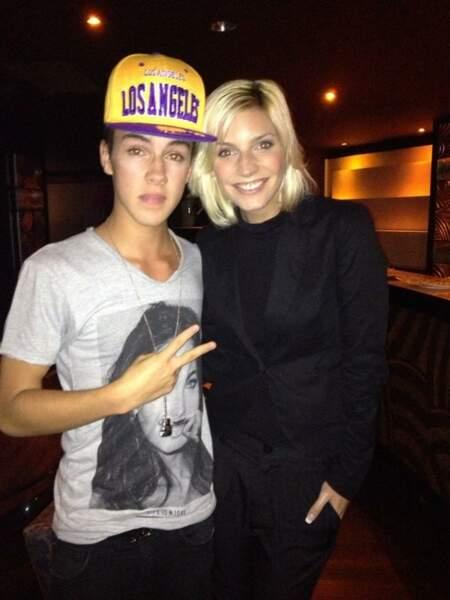 Ok, avec ce Justin Bieber en carton on en sûr : Nadège a fait la connaissance de sosies !