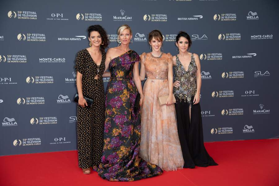 La vie est plus belle quand Pauline Bression, Léa François, Rebecca Hampton et Fabienne Carat sont ensemble
