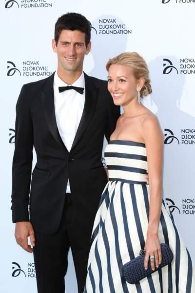 Sur les courts ou en tenue de gala, le couple est toujours glamour