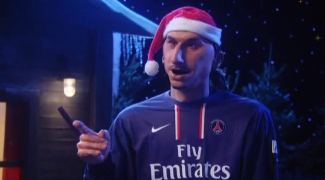 Zlatan Ibrahimovic version Guignols de l'Info...