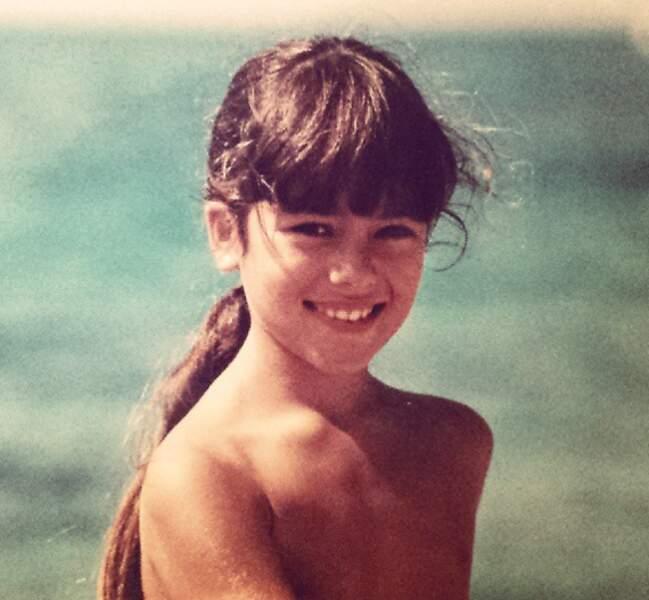 Alizée enfant. Adorable !