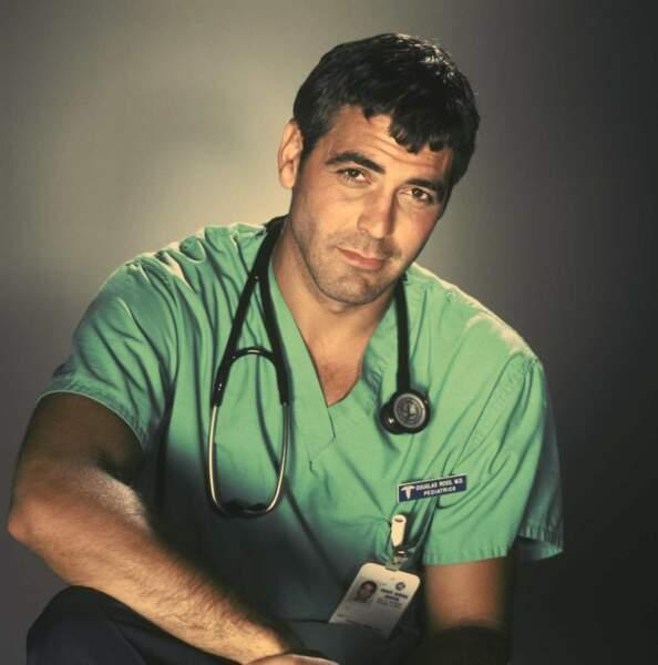 Docteur Doug Ross, le pédiatre sexy interprété par George Clooney