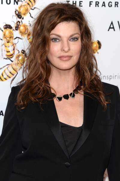 La top-model Linda Evangelista a eu son petit Augustin à 41 ans, fruit de sa relation avec François-Henri Pinault.