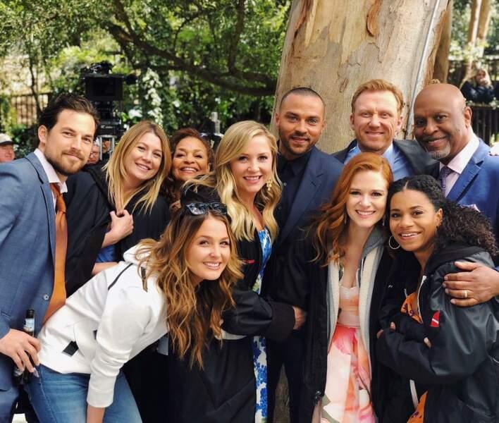 Clap de fin pour l'équipe de Grey's Anatomy