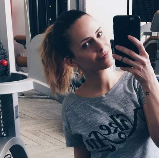 Clara Morgane sans maquillage
