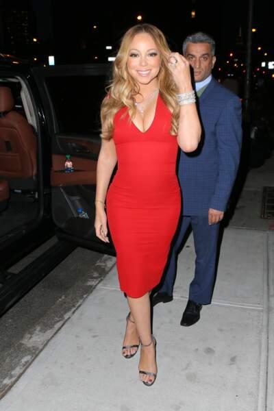 Mariah Carey est maman de jumeaux, Monroe et Morrocan, nés en 2011 alors qu'elle avait 41 ans.