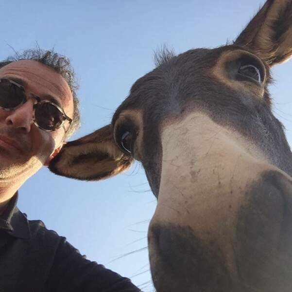 Elie Semoun a fait une belle rencontre en Corse.