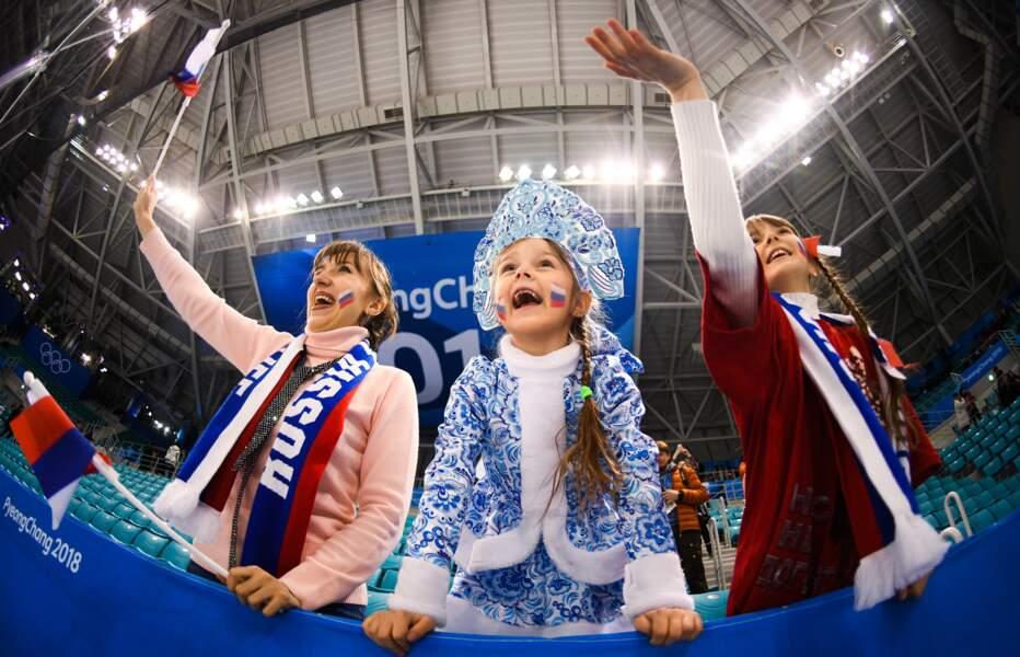 Les poupées russes sont dans la place