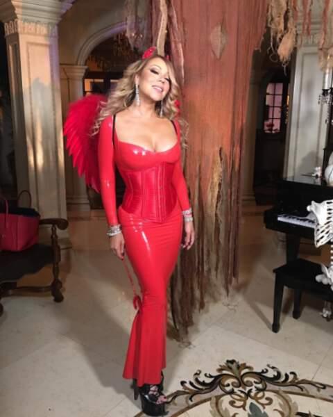 Ange ou démon ? Mariah Carey a choisi son camp.