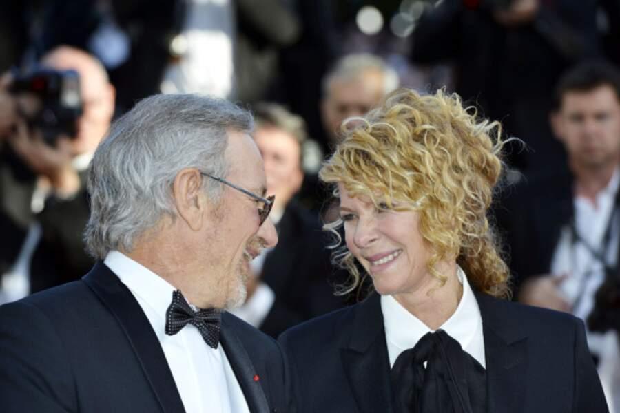 Steven Spielberg et Kate Capshaw, le regard complice