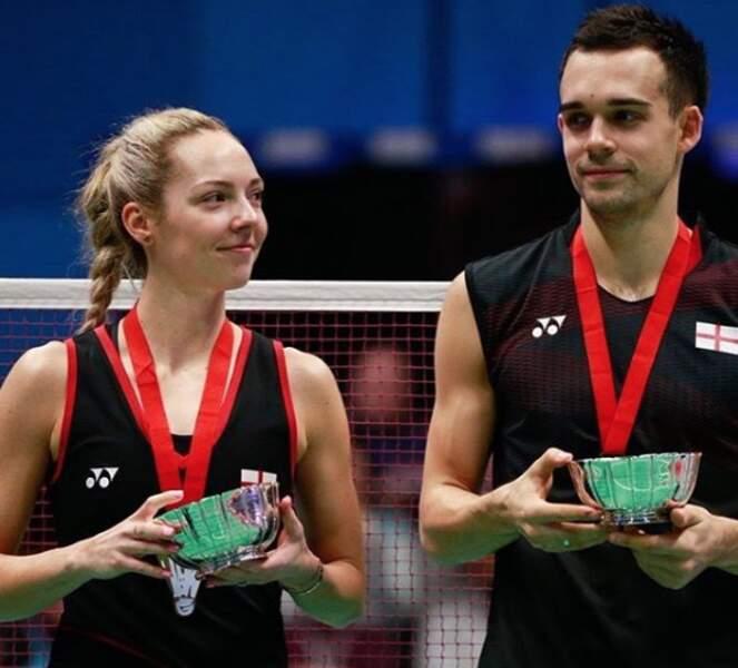 Ils sont aussi associés en badminton mixte avec succès et peuvent rêver ensemble à l'or olympique