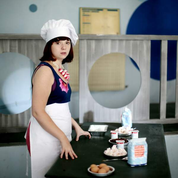 Luna sera la responsable des cuisines de la colonie