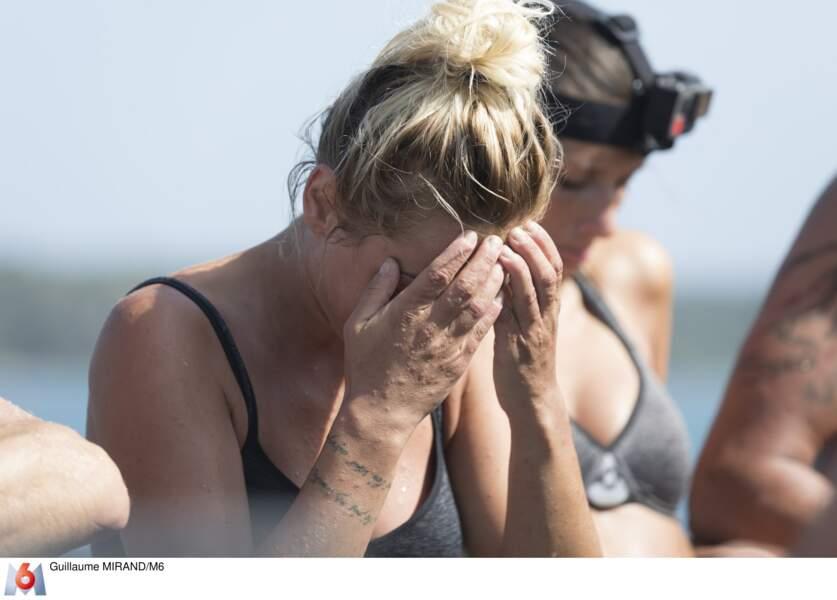 Priscilla Betti n'a pas l'air au top ! Début de l'aventure The Island le mardi 15 mai sur M6