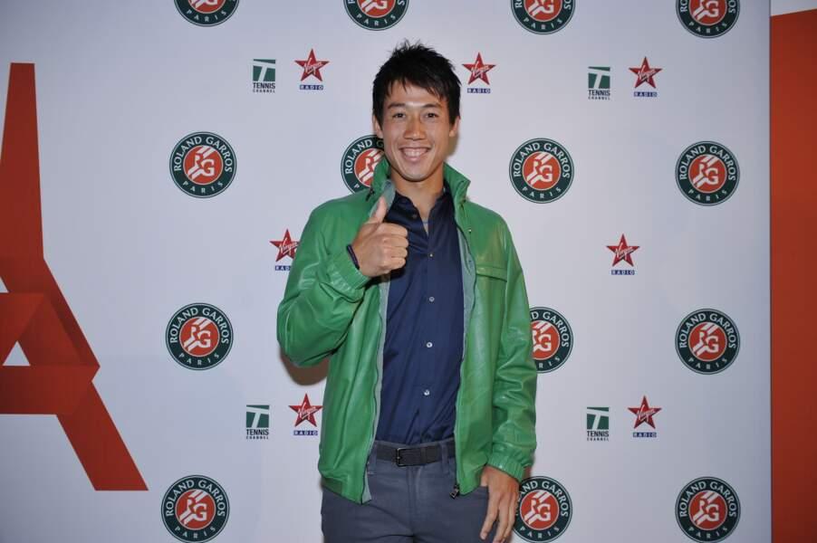 Kei Nishikori est au top
