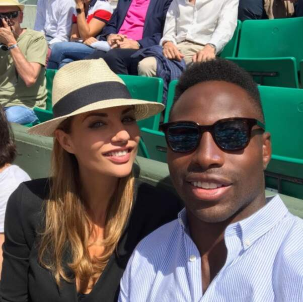 Ariane Brodier et son chéri, le rugbyman Fulgence Ouadrago