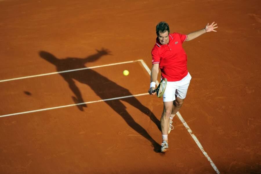 Richard Gasquet a longtemps cru à sa première qualification pour les quarts de finale de Roland-Garros.