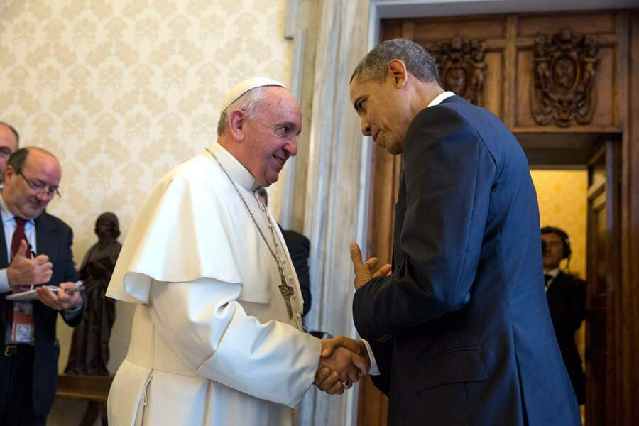 Quelques jours plus tard, Barack Obama se rendait au Vatican pour rencontre le Pape