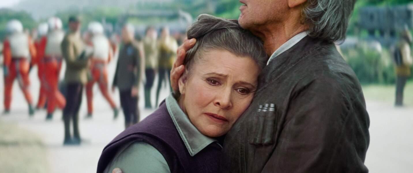 En 2015, Carrie Fisher retrouvait son rôle de Leia dans Le Réveil de la Force