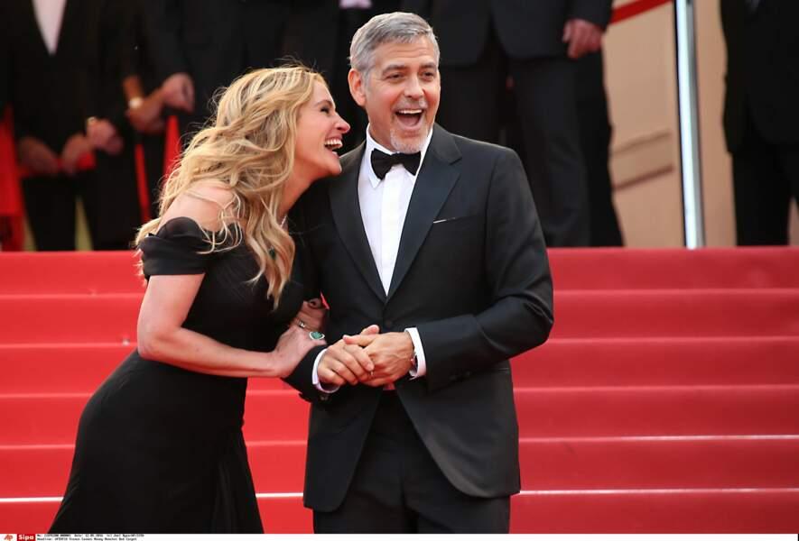 La folle complicité entre Julia Roberts et George Clooney