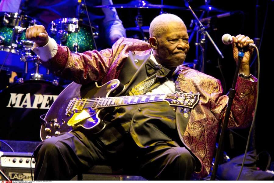 B.B.King, la légende du blues, est mort à 89 ans.