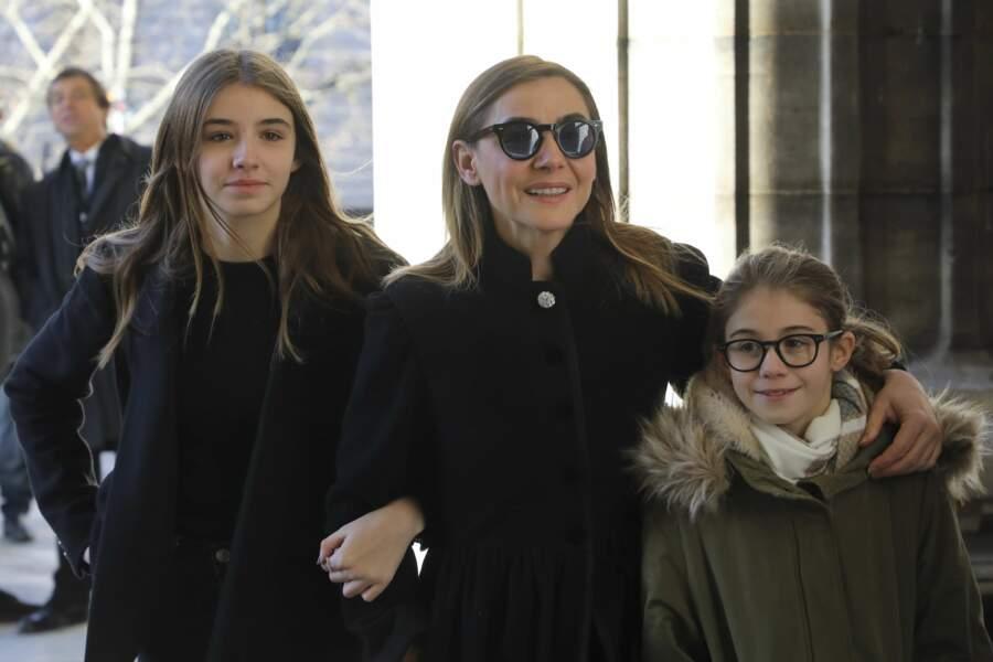 Clotilde Courau et ses filles, Luisa et Vittoria.