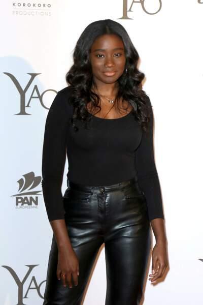 L'actrice Karidja Toure, jolie comme un coeur