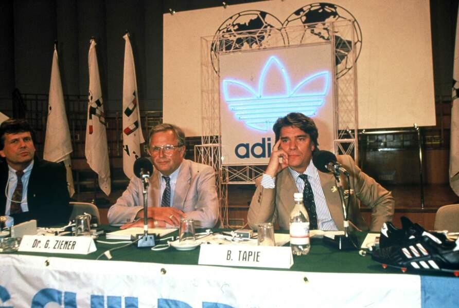 Avant de racheter Adidas en 1990... pour finalement revendre l'équipementier sportif deux ans plus tard
