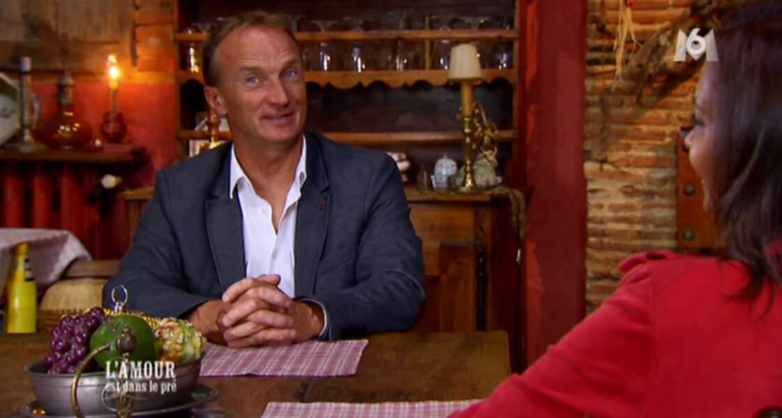 Gilles est venu seul au bilan mais il est amoureux... d'une certaine Véronique. Tant mieux !