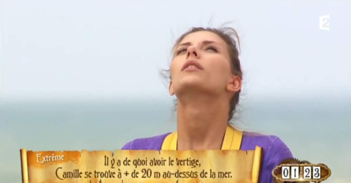 Camille Cerf, zen avant de faire le grand saut