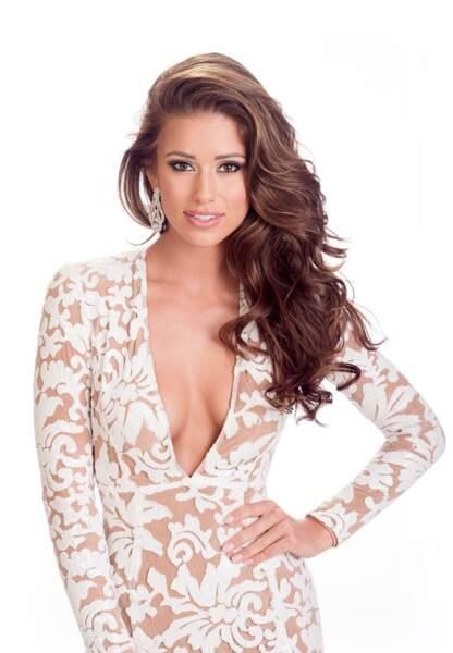 Nia Sanchez, Miss Etats-Unis 2014