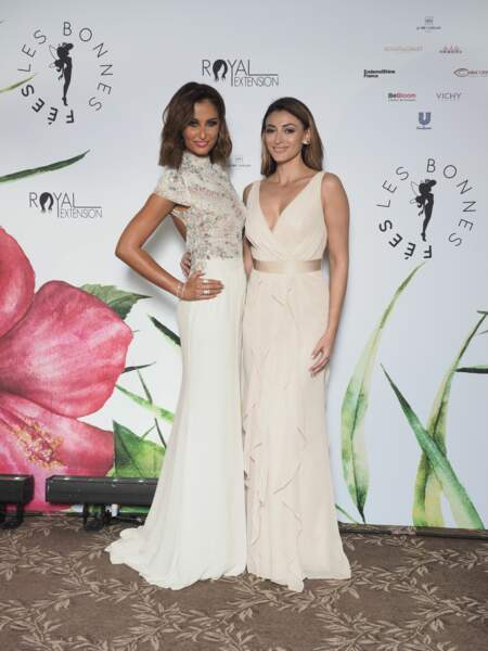 Malika Menard et Rachel Legrain-Trapani, resplendissantes lors de cette soirée événement