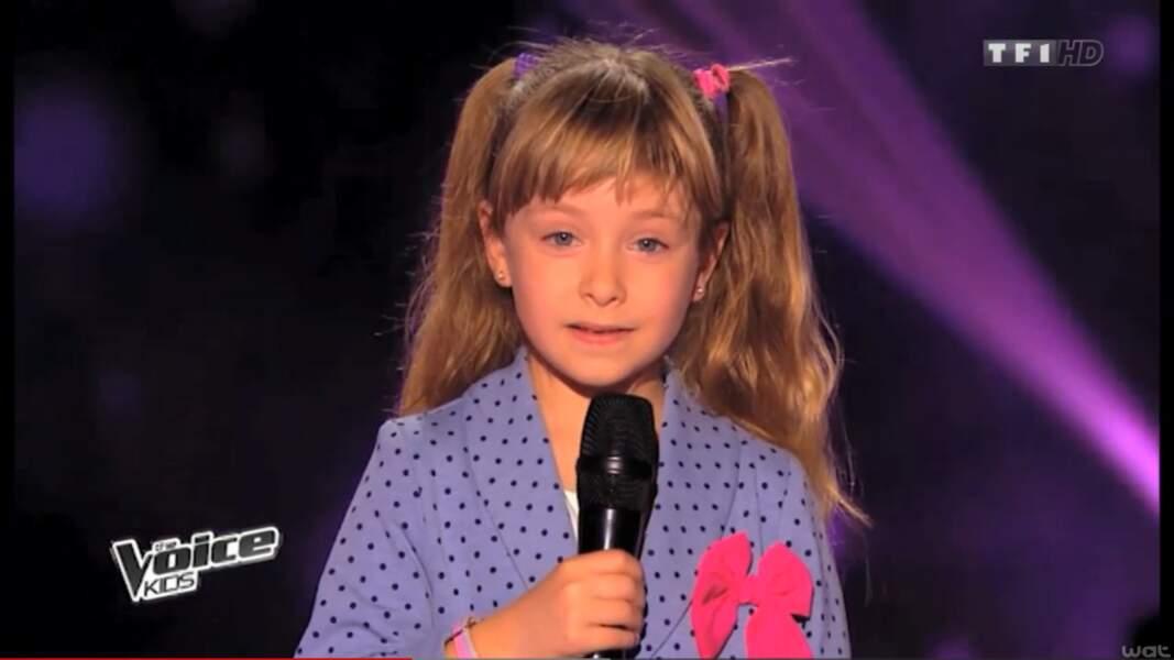 Elle avait ému tout le monde dans The Voice Kids avec ses reprises incroyables de Piaf