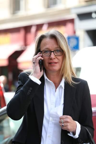L'animatrice Valérie Pascal, qui officie sur M6 Boutique aux côtés de Pierre Dhostel