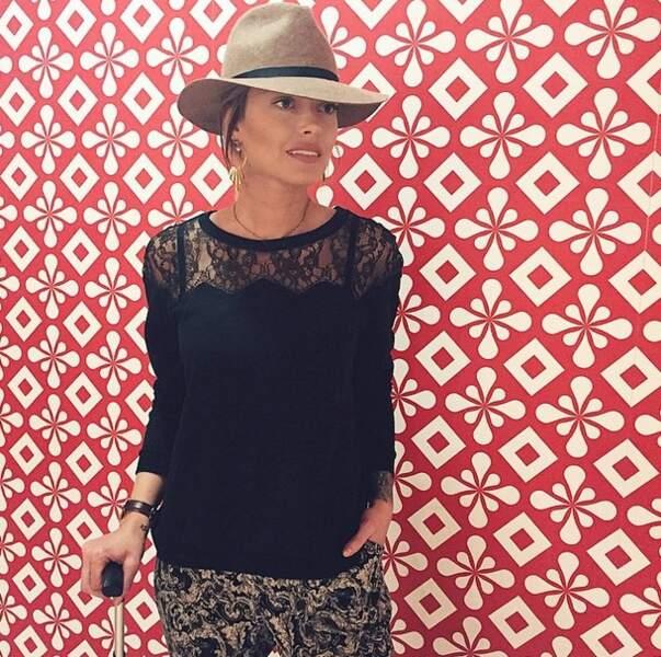 Direction Dubaï et le soleil pour la jolie blogueuse mode...