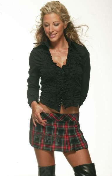 Loana en shooting en 2006 pour son émission Les meilleurs moments de la télé-réalité sur TF6.