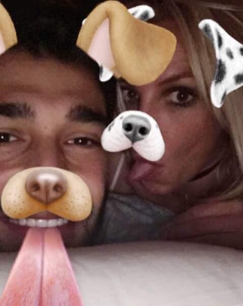 Bonne nouvelle : Britney Spears est toujours avec son chéri.