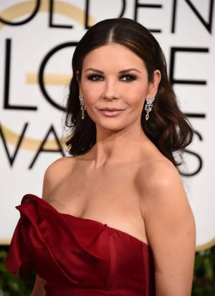 L'année dernière, resplendissante sur le tapis rouge des Golden Globes