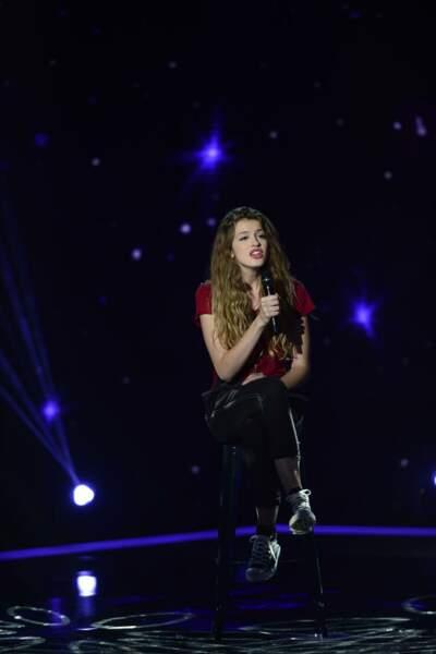 Manon Palmer, 16 ans, talent de l'équipe de Jenifer